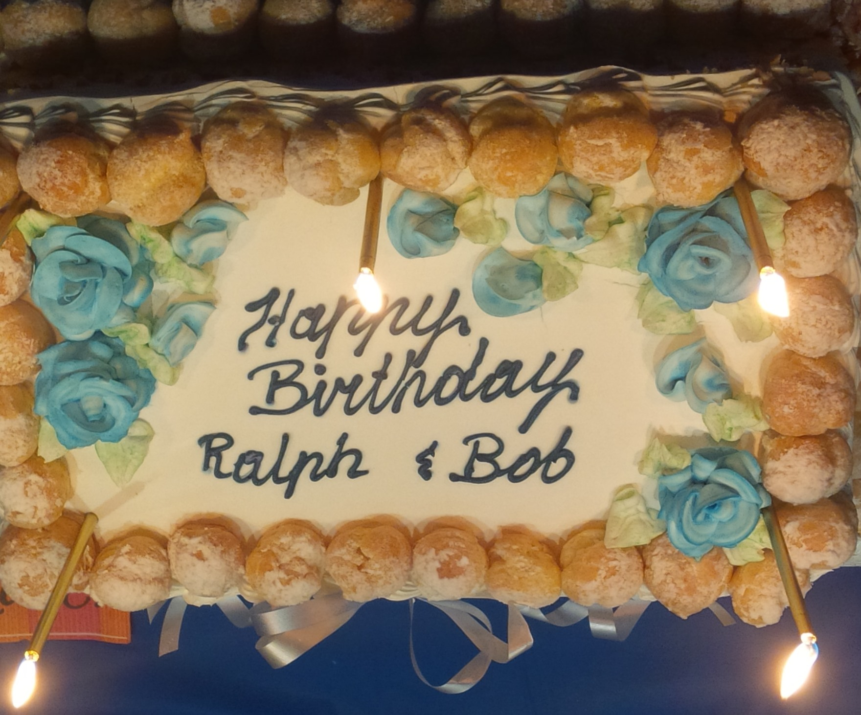 Happy Th Birthday Ralph Fenik And Bob McGlynn McKellar - Happy birthday bob cake